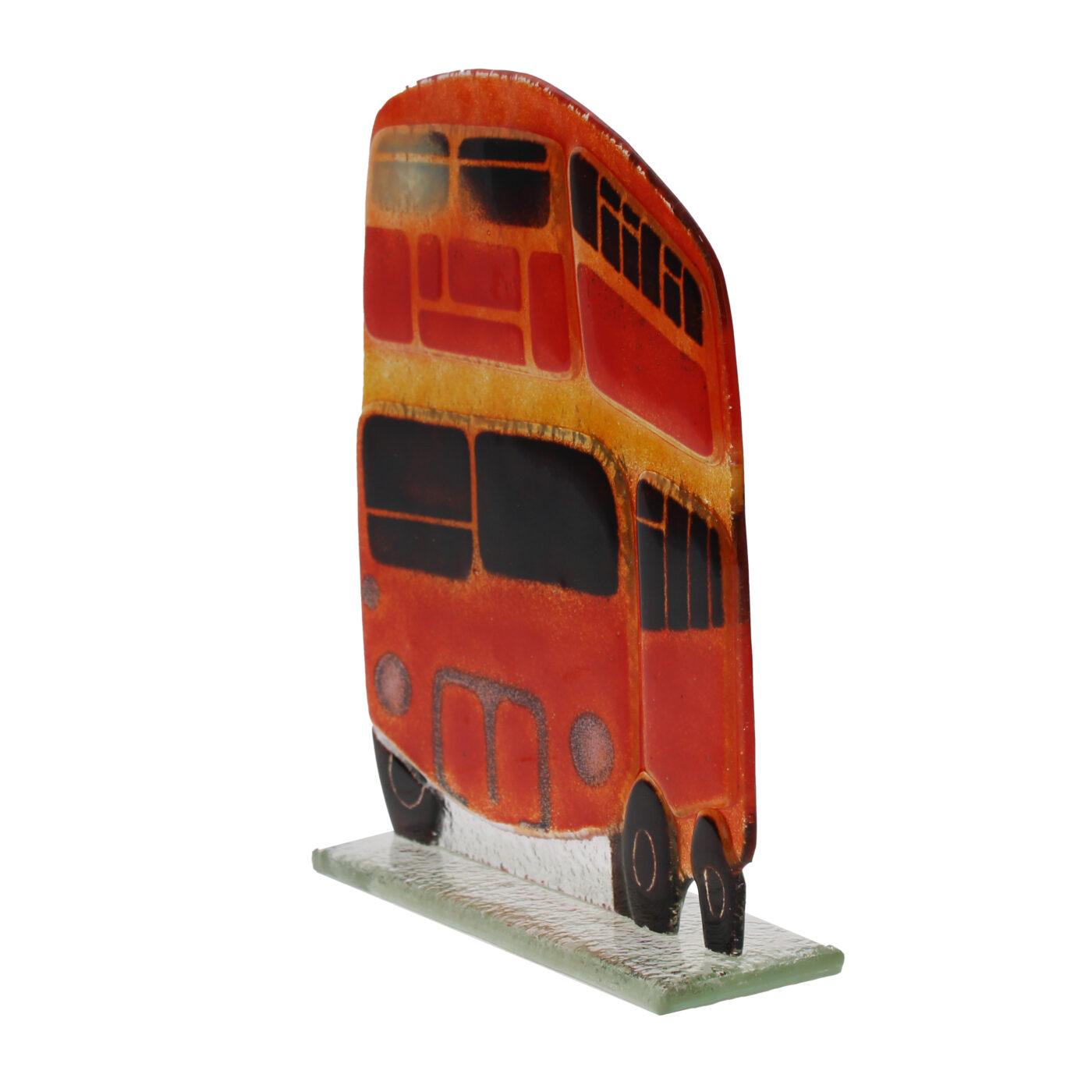 glass london bus