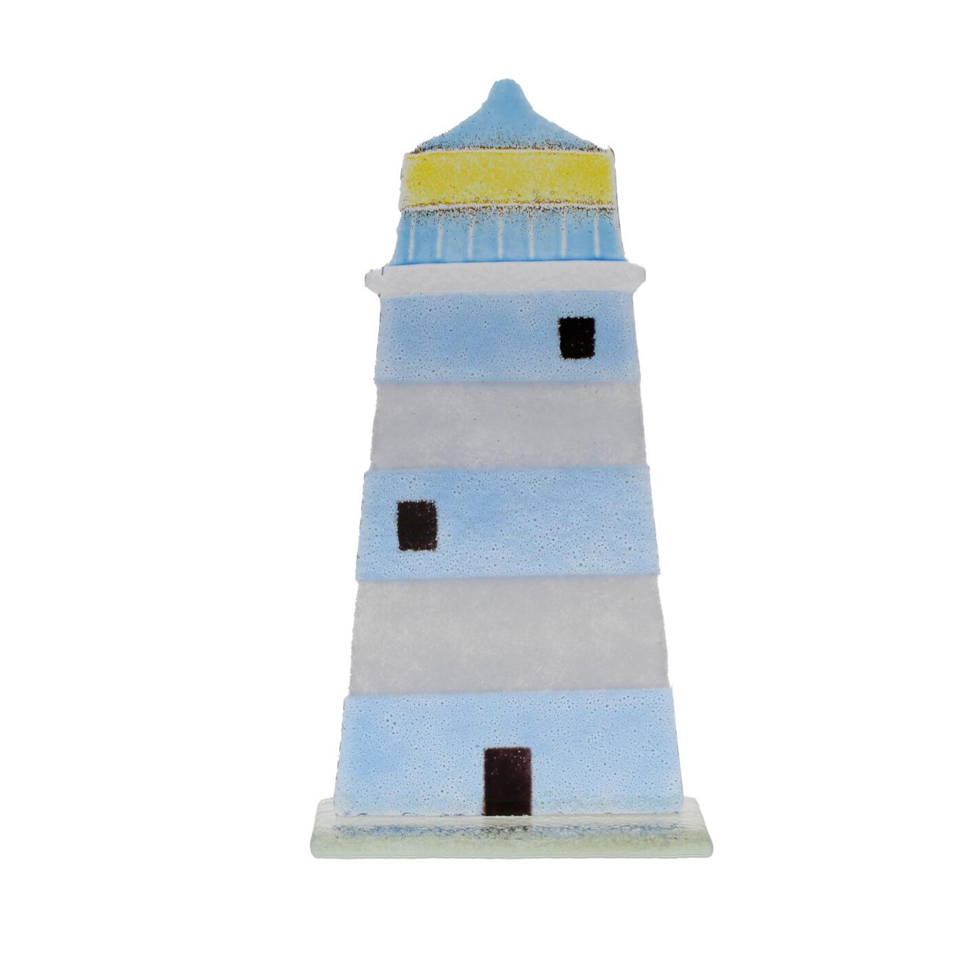 glass lighthouse ornament