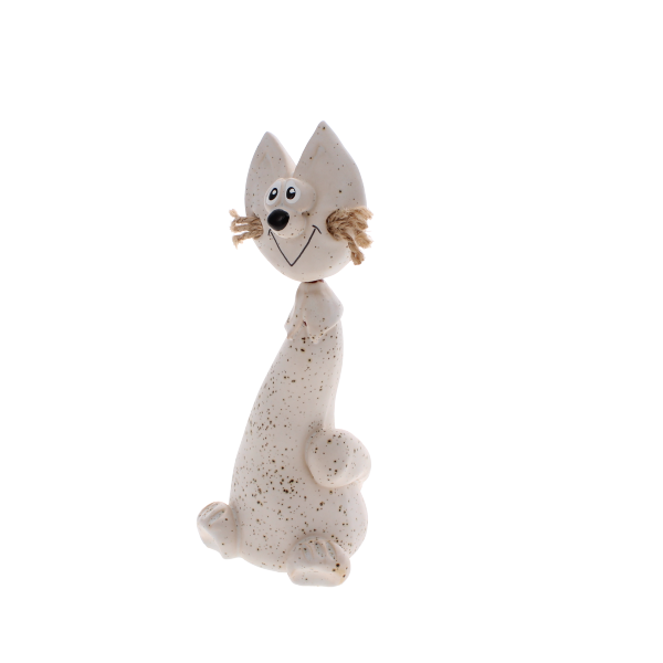crazy cat white jute whiskers
