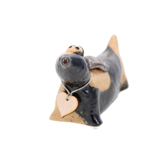ceramic dachshund patches