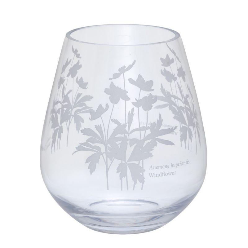 bloom wide windflower vase