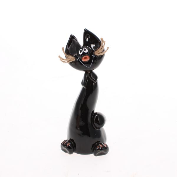 crazy cat black jute whiskers