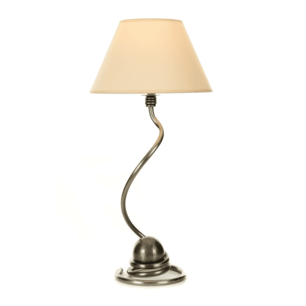 ball lamp with shade