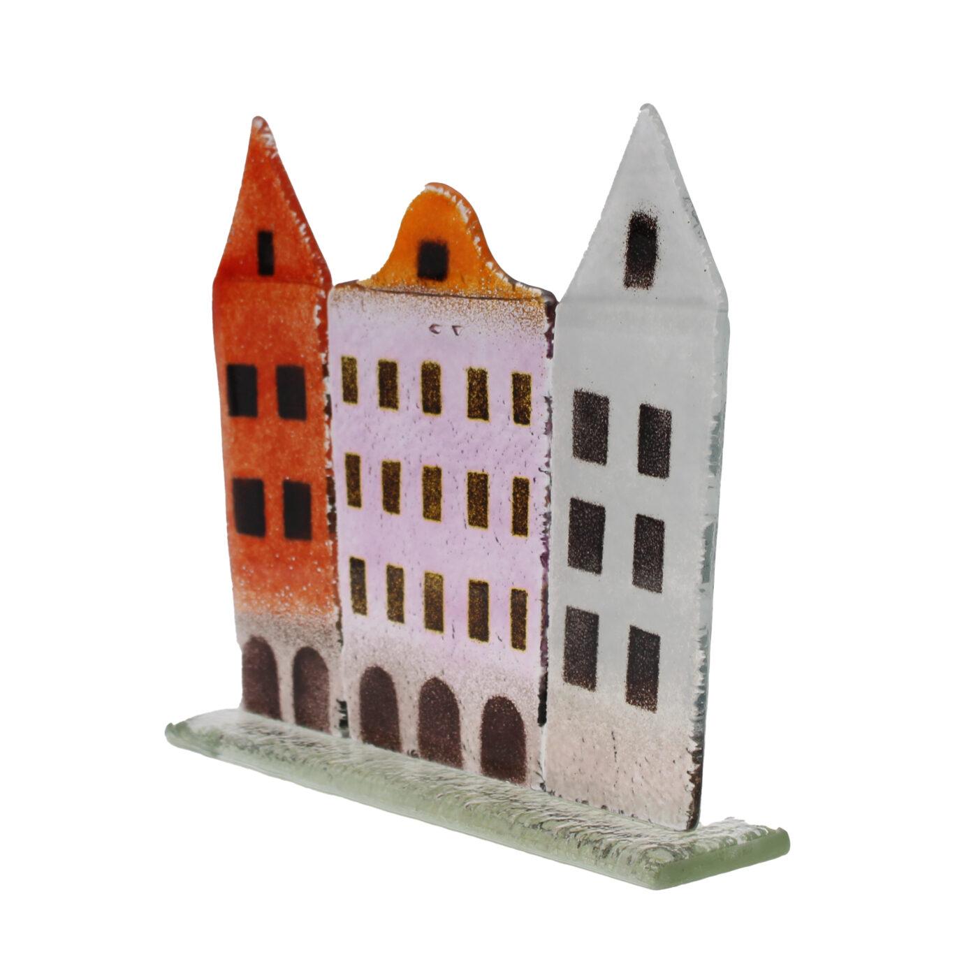 glass city houses