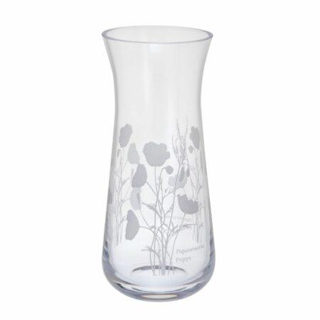 bloom poppy vase small