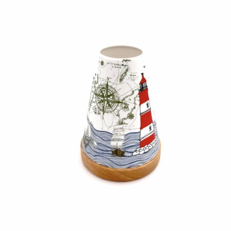 seaside candle holder