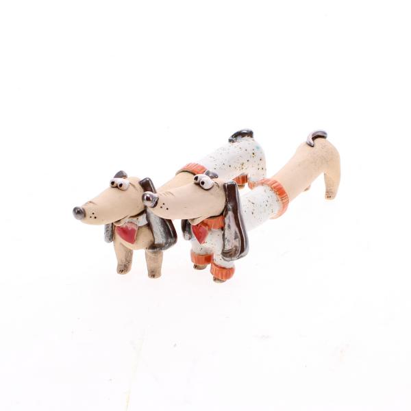 dachshund white clothes