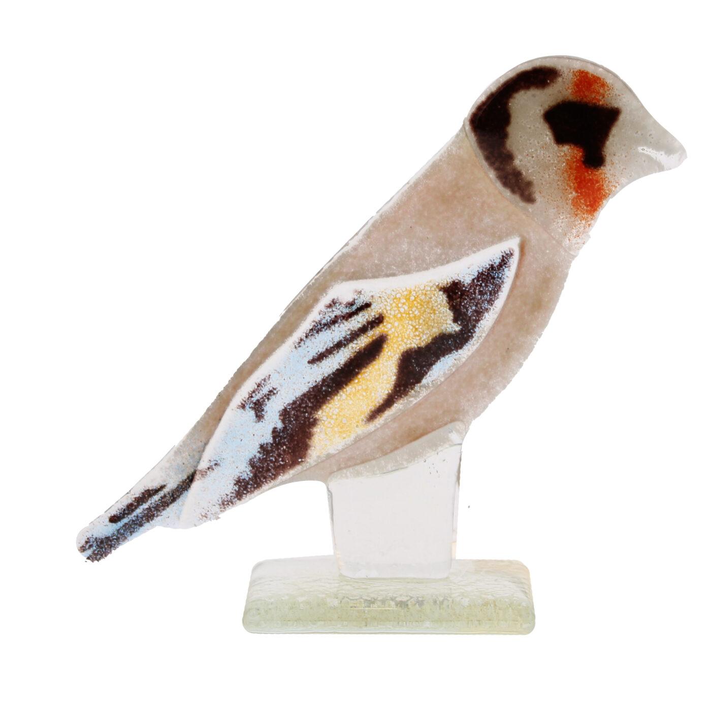glass goldfinch