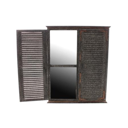 garden shutter mirror