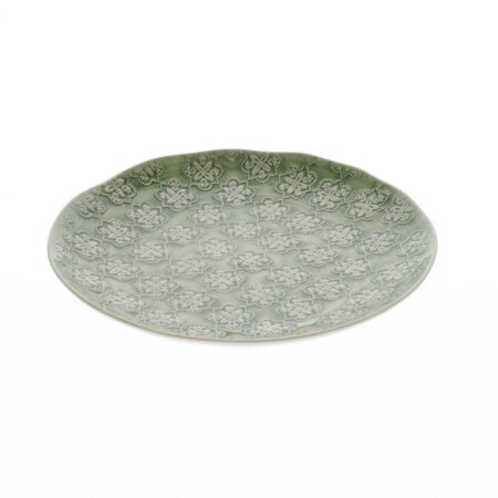 Nadiya Hussain Green Side Plate, Mosaic