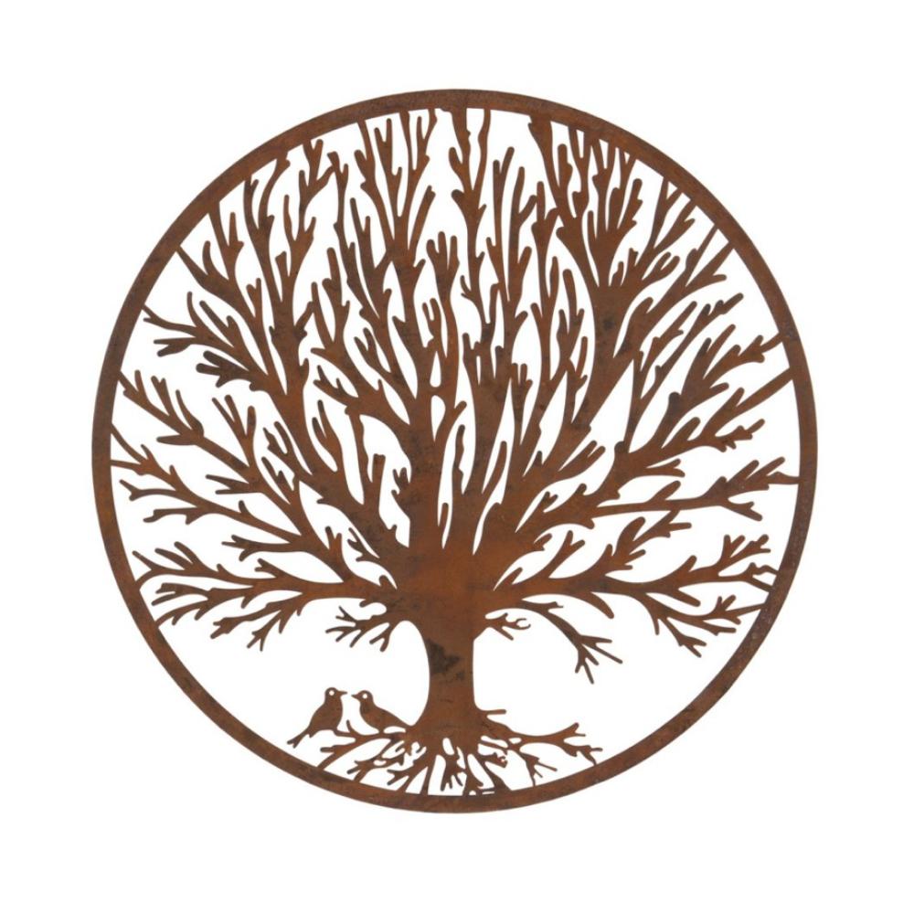 winter tree plaque