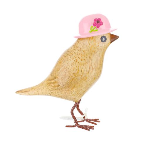 DCUK garden birds in hats