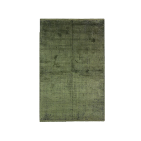 colore rug in olive