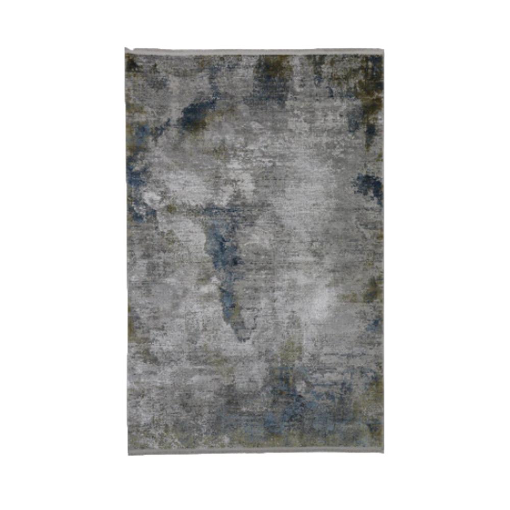 toros illusion rug ice blue