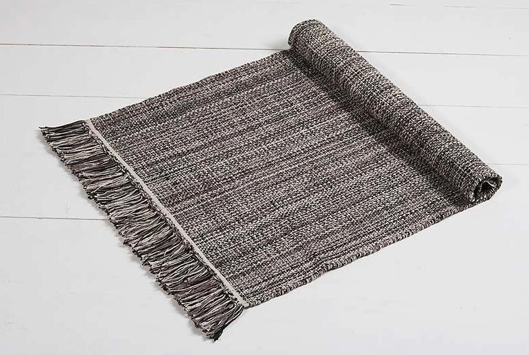 chambray steel rug