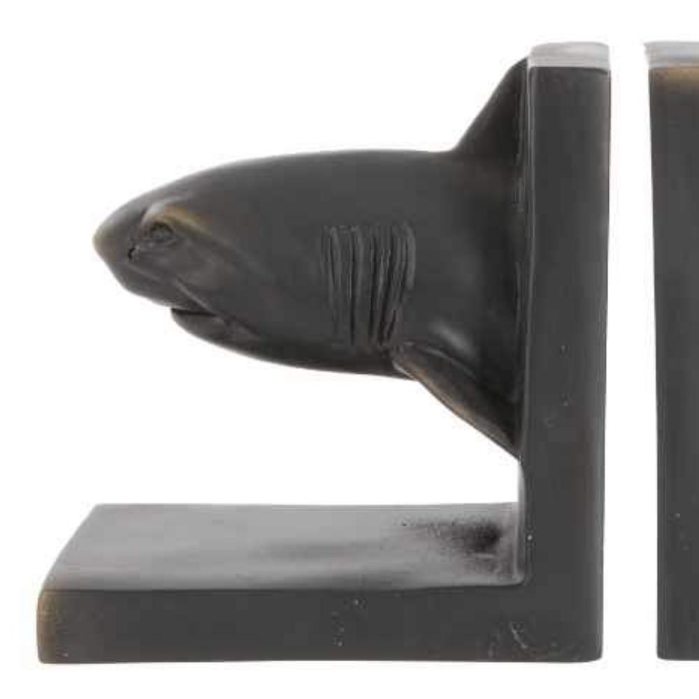 shark bookends