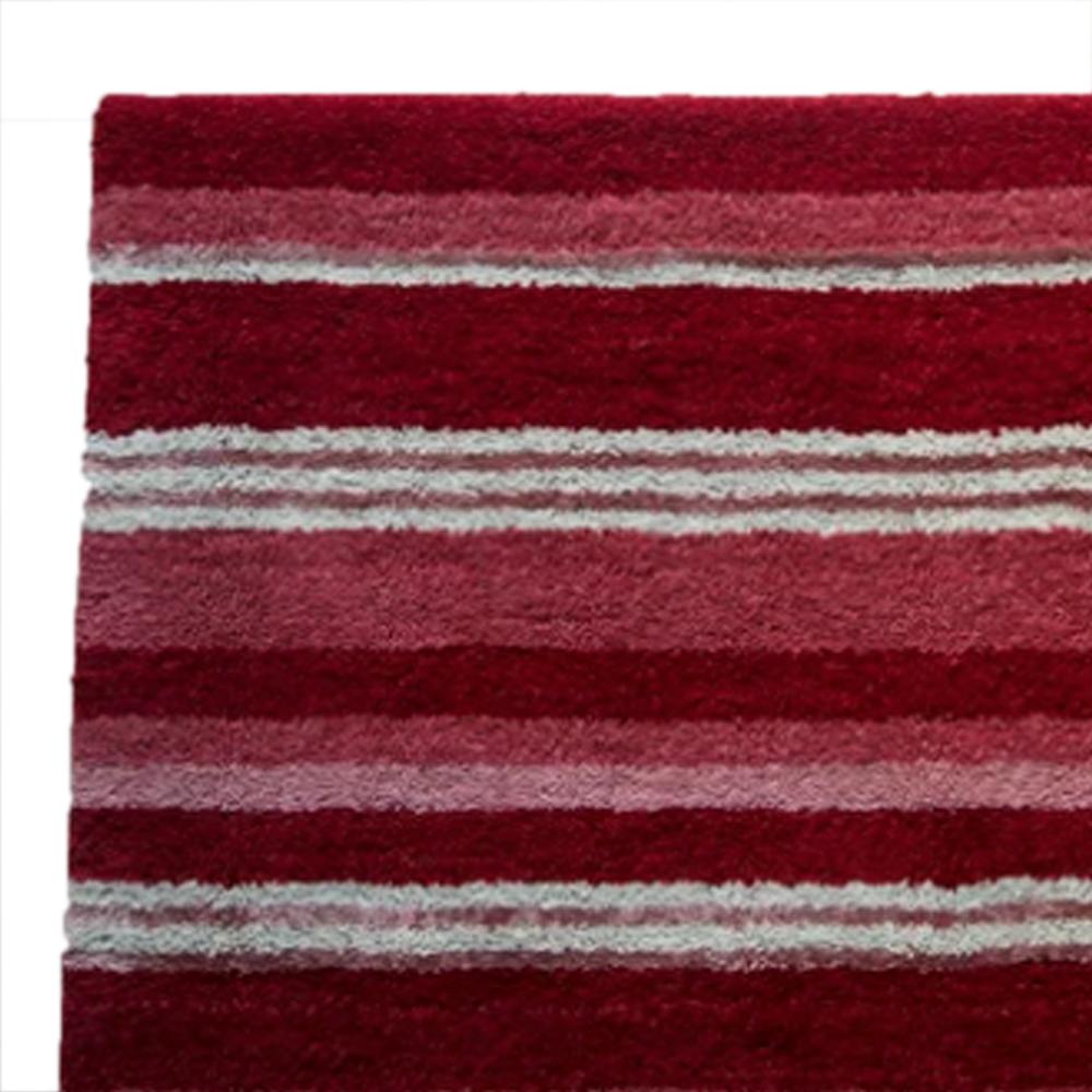 supreme handloom rug berry