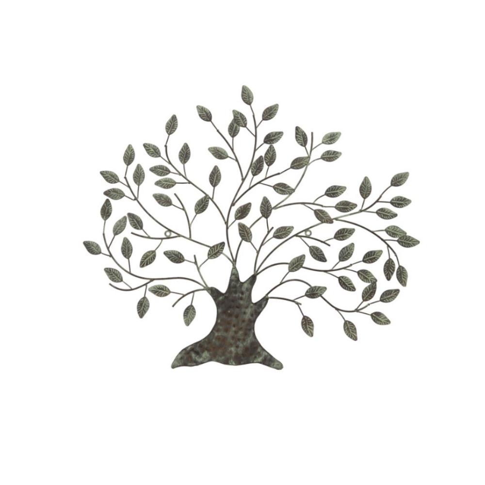green tree plaque