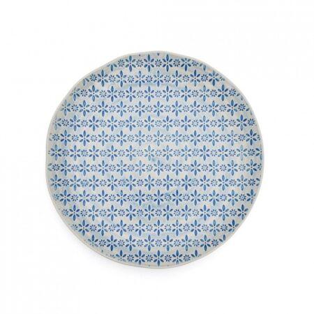 Nadiya Hussain's Dinner Plate, Blue Flower