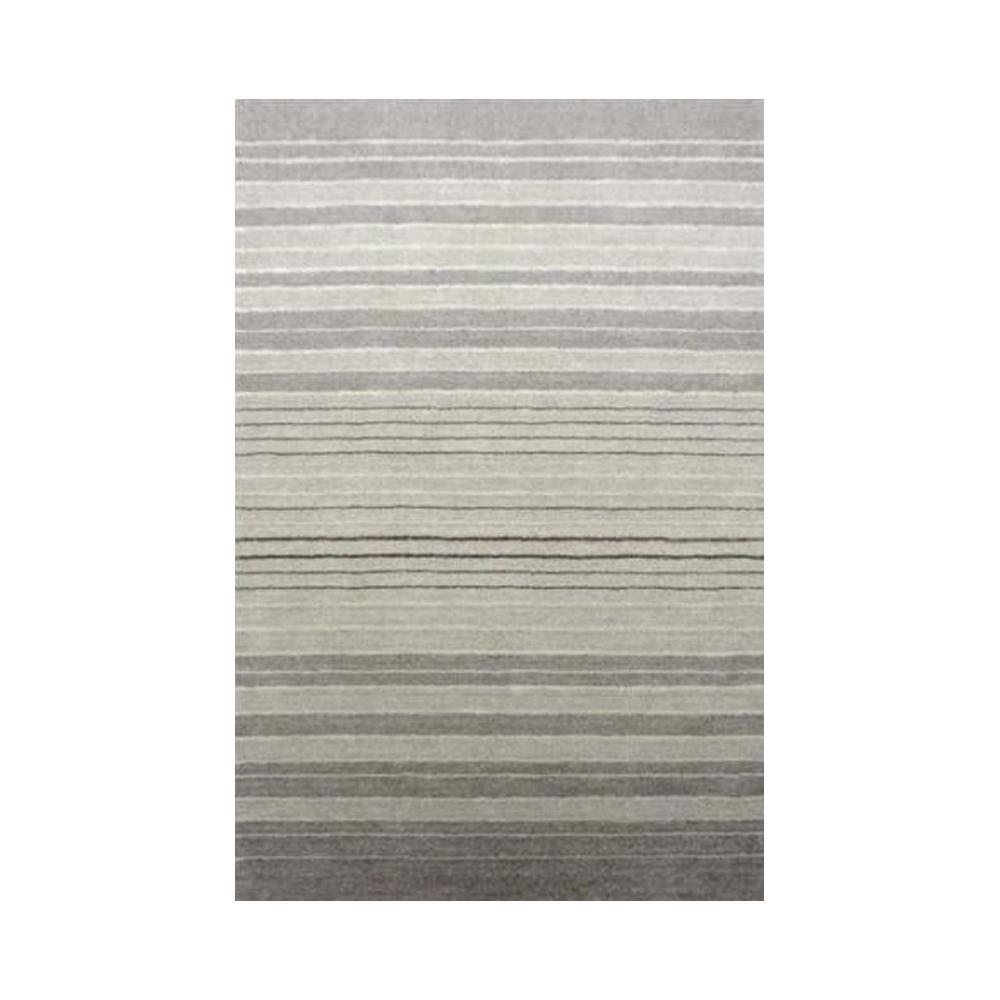 supreme handloom rug silver