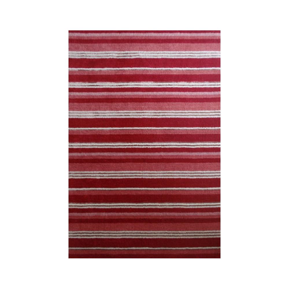 supreme handloom rug in berry