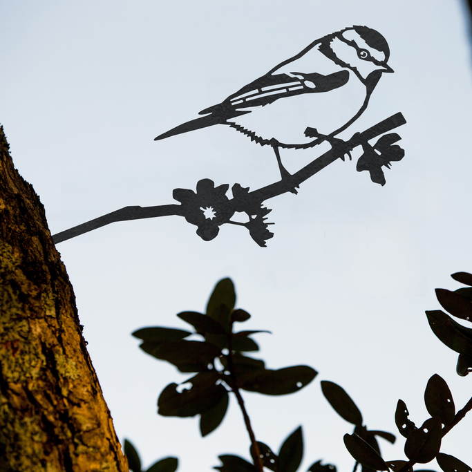 metal bird garden ornament