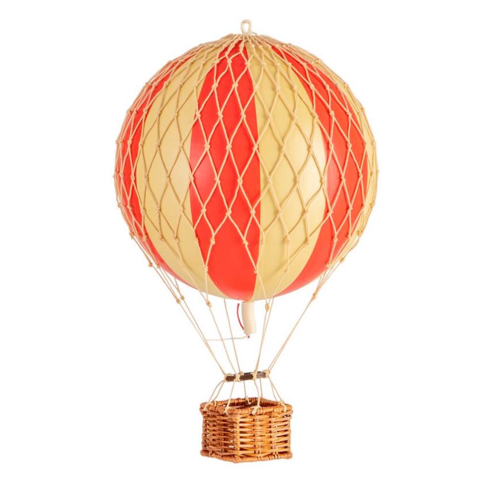 medium hot air balloon model red