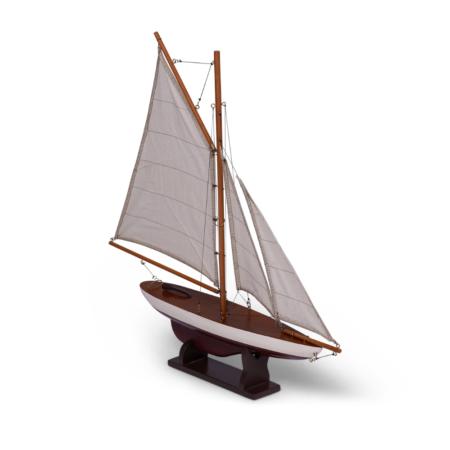 mini pond yacht red