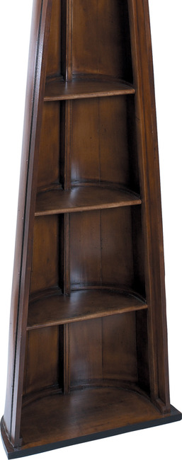 man of eight bookcase