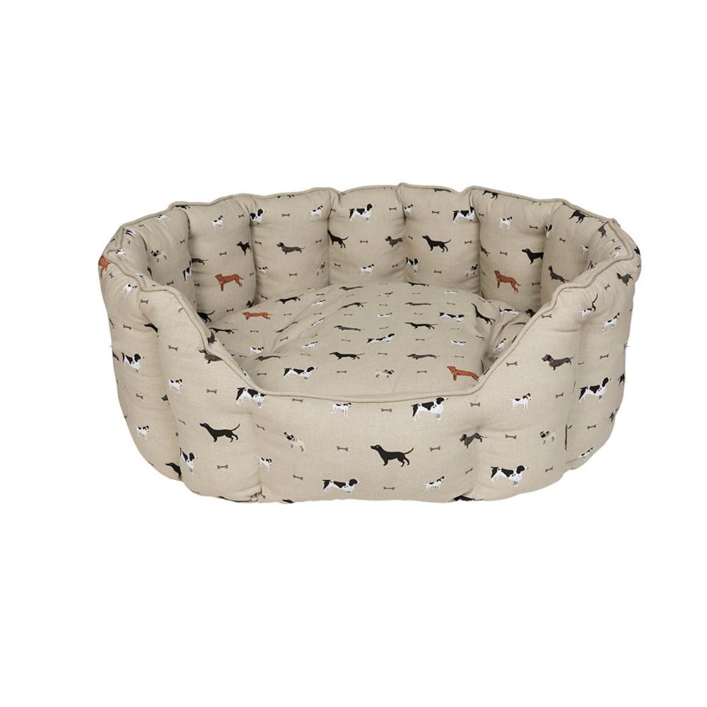 sophie allport woof large dog bed