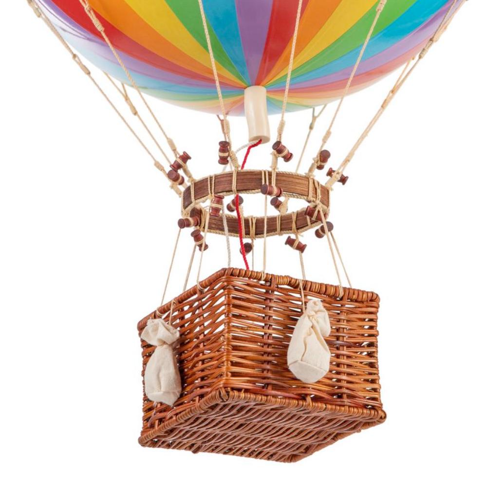 jules verne giant hot air balloon rainbow