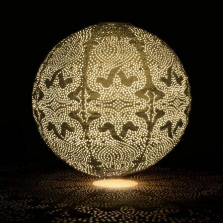 golden globe solar lantern