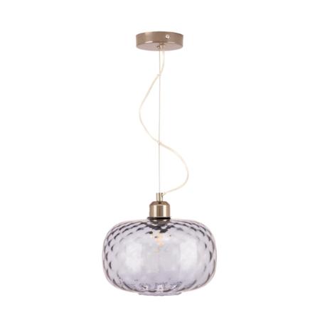 textured grey glass pendant light