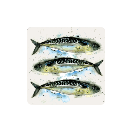 trio mackerel placemats